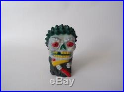 Vintage 1986 Axlon Breath Blasters Death Breath Figure, 80s Gross Toy Madballs