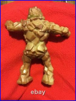 Vintage 1986 Soma Monster Man Rock Stone Man 6 Action Figure Toy RARE
