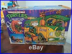 Vintage 1988-1990 Teenage Mutant Ninja Turtles Toy Action Figures & vehicle lot