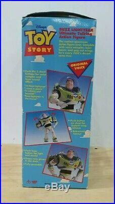 Vintage 1995 Thinkway Disney Toy Story Buzz Lightyear Figure 62809 Boxed