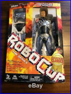 Vintage 1997 NIB 15 Toy Island ROBOCOP Electronic Figure Doll