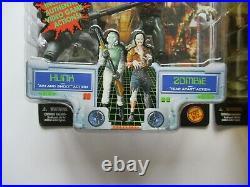 Vintage 1998 Toy Biz Capcom Resident Evil 2 Video Game 6 Figure Lot Hunk Sealed