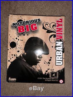 Vintage 2011 Notorious B. I. G. Funko Pop Urban Vinyl Action Figure Toy MIB Biggie
