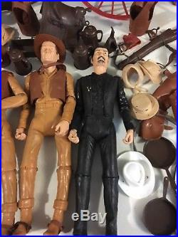 Vintage 70's Marx Johnny West Best Of The West Action Figure Accessories Lot