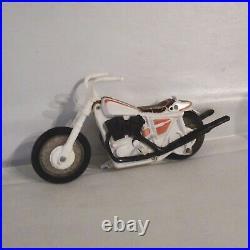 Vintage 70s Evel Knievel Figure, Bike, Launcher & BOX