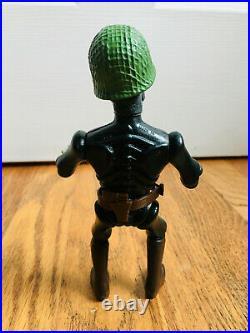 Vintage 80's Nightmare Warriors MOTU KO Figure Skeleton Glow Dark Scareglow Toy