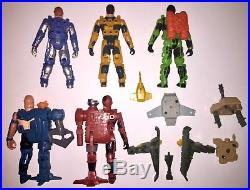 Vintage 80s 1986 Kenner CENTURIONS Action Figures & Parts /Accessories Toy Lot