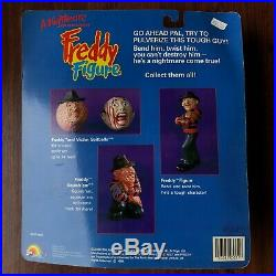 Vintage 80s A Nightmare On Elm Street Freddy Krueger Figure Toy Doll Movie Promo