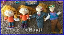 Vintage 90s Nickelodeon Rugrats Cartoon Characters Toy Figure Lot