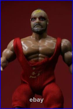 Vintage AWA Remco Mat Mania Boris Zhukov WWF WCW Wrestling Toy Figure