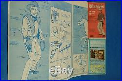 Vintage Action Figure BONANZA HOSS The Movable Man Palitoy 1966 Complete Toy