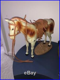 Vintage Action Figure Lot Gabriel Lone Ranger Silver Tonto Complete Excellent