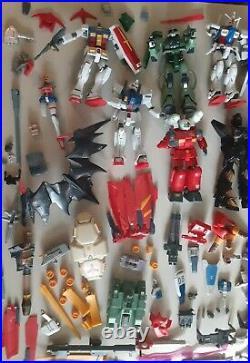 Vintage Bandai Gundam Figure Toy SAS Gundam Z Weapons And Accessories huge lot