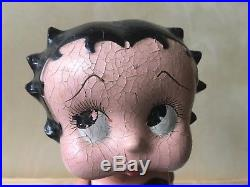 Vintage Cameo BETTY BOOP wood composition Doll figure toy 1930s black dress