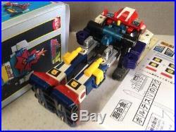 Vintage Chogokin Chodenji Machine Voltes V Action Figure Toy With Box