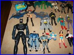 Vintage DC Comics Kenner Batman Figures Toy Lot Joker 1980's 90's 1984