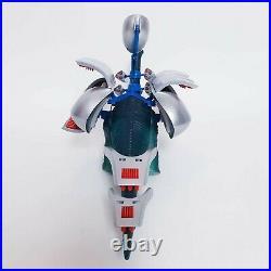 Vintage Dino Riders Diplodocus + Figures + Parts Tyco 1987 Toy Good Condition