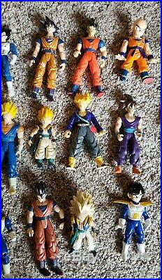 Vintage Dragon Ball Z Action Figures Toy Lot Dragonball