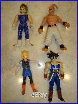 Vintage Dragon Ball Z Figure Lot of 42 Bird Studio Bs/Sta Toy Figures