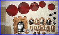 Vintage Exin Castillos Gran Alcazar Castle Toy Blocks Building Set Figures XI