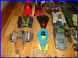 Vintage G. I. Joe Lot 1980's Hasbro Figures and Vehicles Vintage Toys G. I. Joes