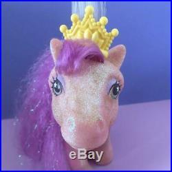 Vintage G1 My Little Pony EUR UK Exclusive Princess Sparkle Light Up Toy Figure