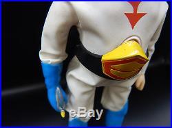 Vintage GATCHAMAN Nakajima nodder vinyl figure with Mask sofubi Tatsunoku toy Ken