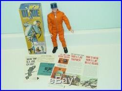 Vintage GI Joe Action Pilot Figure In Box + Manuals, 1964 Hasbro 7800