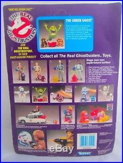 Vintage Ghostbusters SLIMER Green Ghost Action Figure Toy KENNER 1986 Sealed MOC