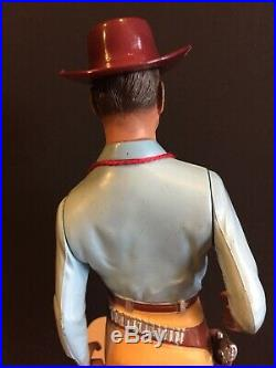 Vintage Hartland Gunfighter DAN TROOP Lawman Western Collectible Figure Toy