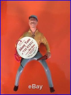 Vintage Hartland Plastics 1950's Jonny Yuma Cowboy Figure