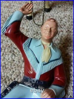 Vintage Hartland Toy Western Figures Roy Rogers With Horse Trigger 800 Series