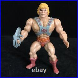 Vintage He-Man Action Figure Masters of the Universe MOTU Toy