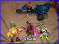 Vintage He-Man MOTU Action Figure Lot withSome Other 1980's Vintage Toys