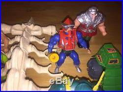 Vintage He-Man MOTU Toy Lot 18 Figures Accessories Included