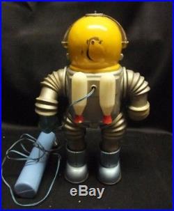 Vintage Hi-Bouncer Moon Scout Marx Toy Astronaut SF Vintage Retro Robot Figure