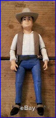 Vintage Hoss Doll Action Figure Man Bonanza TV show