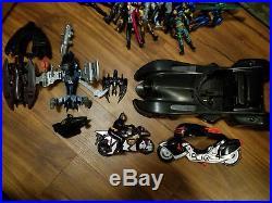 Vintage Huge Batman Mixed Animated Series & Movies Figure Vehicle Toy Lot Figure