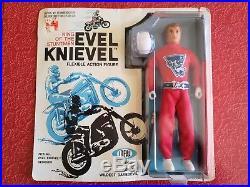 Vintage Ideal 1972 Evel Knievel figure MOC