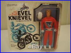 Vintage Ideal Evel Knievel Flexible Action Figure, #3400-9, 1972