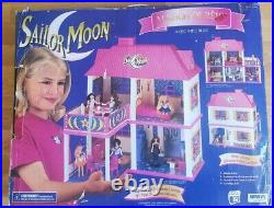 Vintage Irwin Sailor Moon Dream Doll House Super Rare Toy With Original Box
