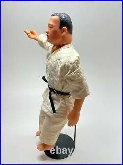 Vintage James Bond 007 Action Figure Odd Job Throws Derby Hat, Karate Chops