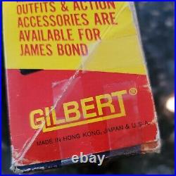 Vintage James Bond 007 Gilbert Figure UNPLAYED Box 1965 Outfits Accessories