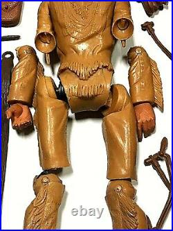 Vintage Johnny West 1965 Marx Action Figure Cowboy Toy Collection Jane Cherokee