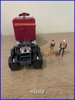 Vintage Kenner Mask action figure toy M. A. S. K. Semi Truck Rhino Complete