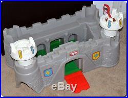 Vintage Little Tikes Action Figure Castle Toy Box Giant Size Play Castle, Rare