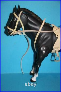 Vintage Lone Ranger Marx Gabriel doll figure BUTCH Cavendish and horse SMOKE see