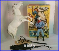 Vintage Lone Ranger & Silver 1973 Gabriel Figure With Box