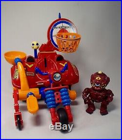 Vintage MADBALLS Popping Poppers Action Figure ROLLERCYCLE & HORN HEAD Toy MIB
