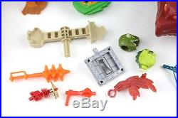 Vintage MOTU He-Man Castle Grayskull Lot with Action Figures & Vehicles 80's Toy